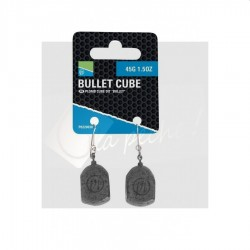 Bullet cube leads - Plomb d'arlesey cube