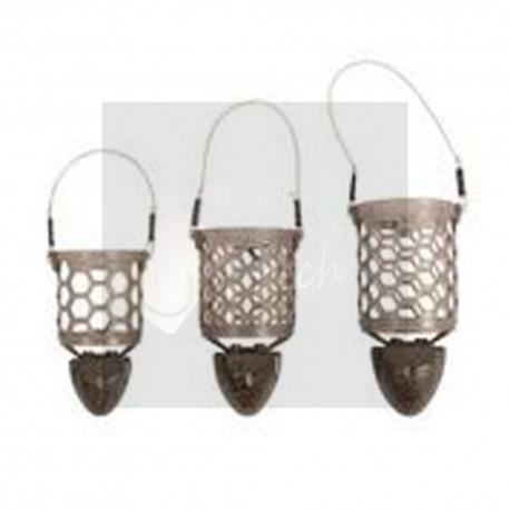 HEXMESH PLASTIC BULLET FEEDERS - cage feeder nid d'abeille